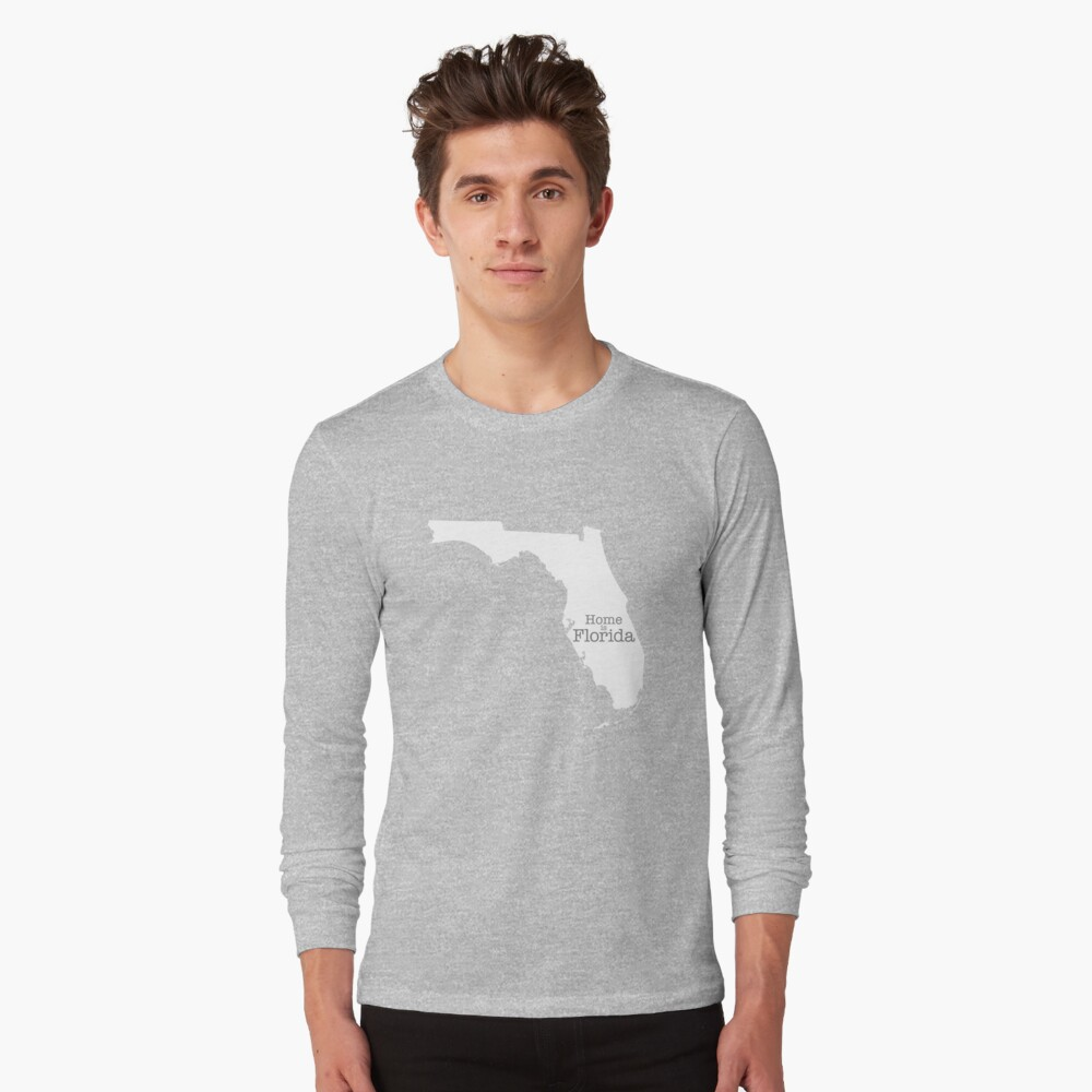 Home is Florida Long Sleeve T-Shirt