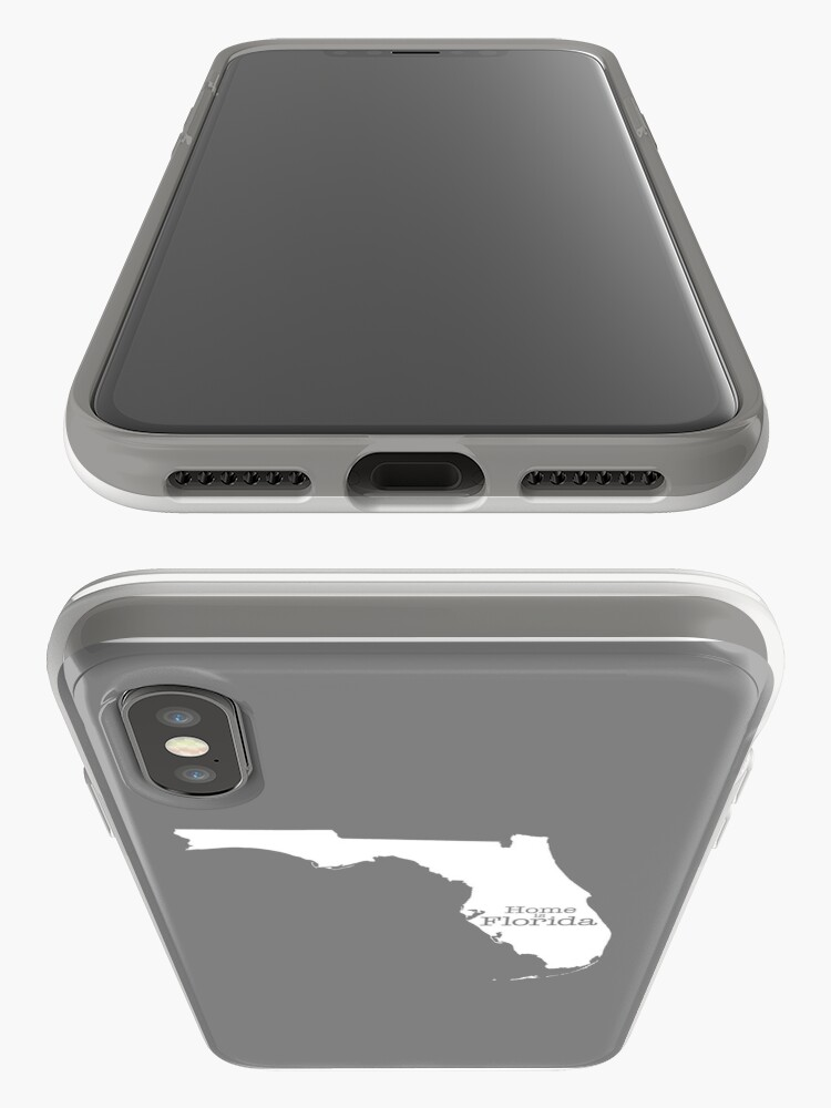Alternate view of Home is Florida iPhone Case & Cover