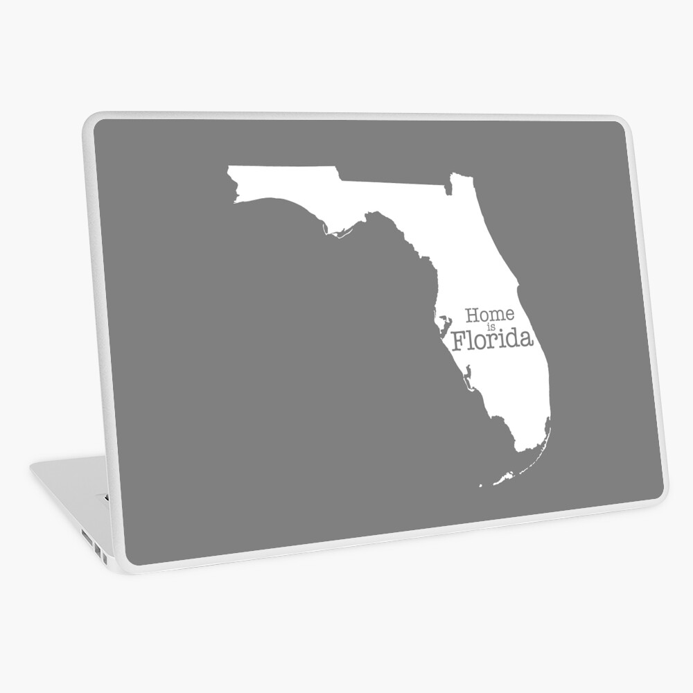 Home is Florida Laptop Skin