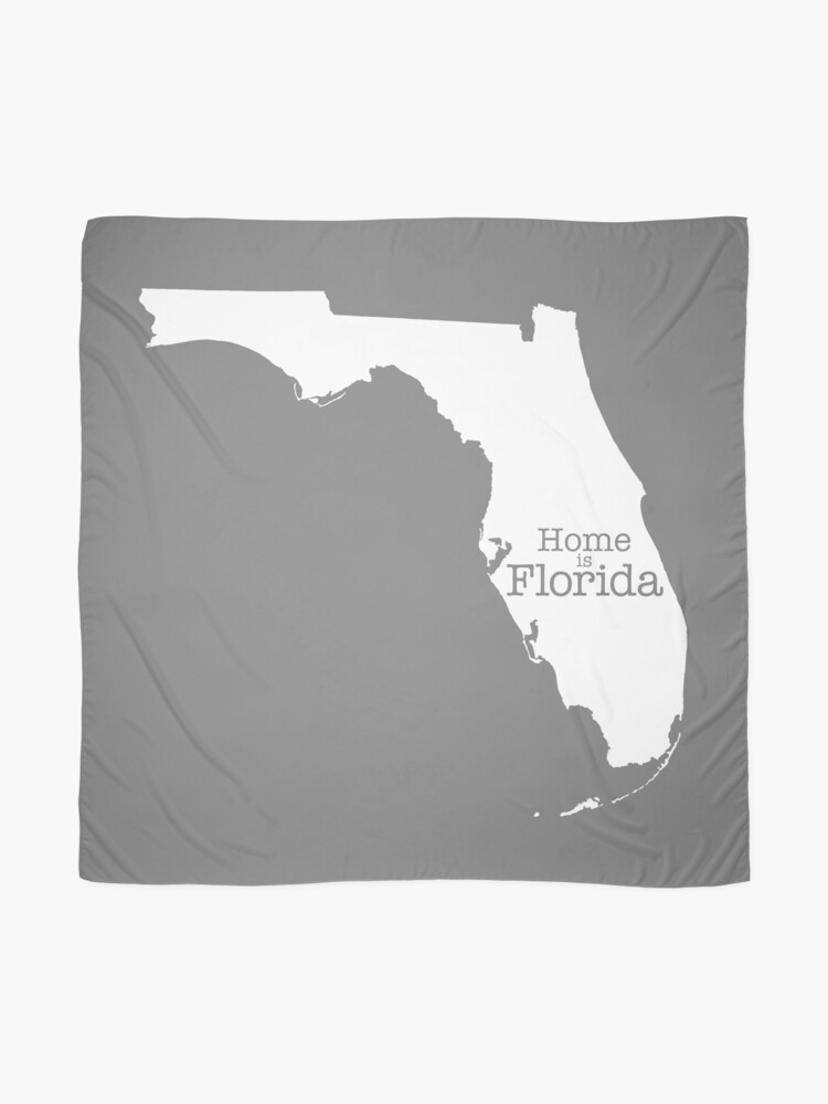 Alternate view of Home is Florida Scarf