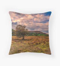 North Yorks Moors Throw Pillow