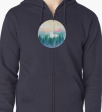 Protector of the pines  Zipped Hoodie
