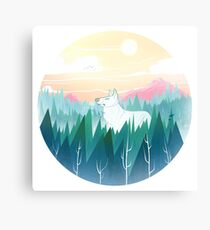 Protector of the pines  Canvas Print