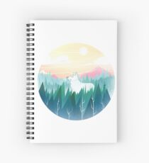 Protector of the pines  Spiral Notebook