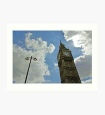 The Leaning Tower of Ben Art Print