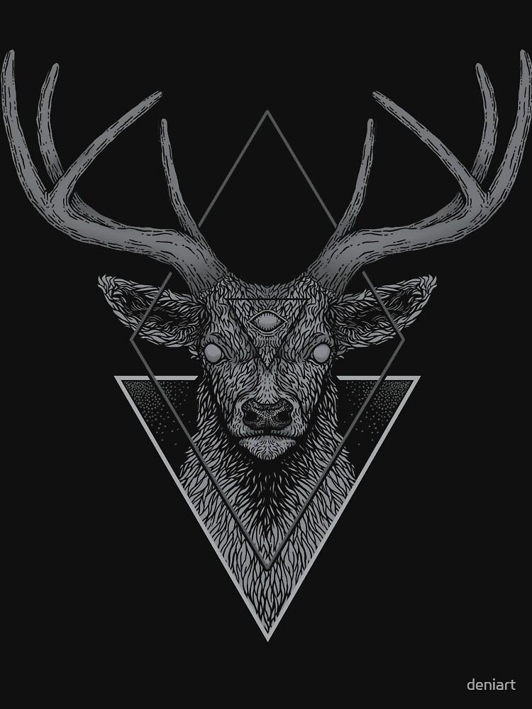 Dark Deer by deniart