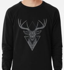 Dunkler Hirsch Leichtes Sweatshirt