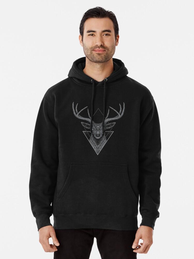 Alternate view of Dark Deer Pullover Hoodie
