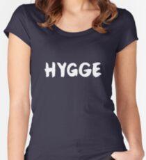 Hygge – Scandinavian, Cozy, Danish Women's Fitted Scoop T-Shirt