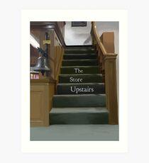 The Store Upstairs Art Print