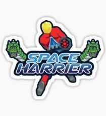 SPACE HARRIER CLASSIC ARCADE GAME Sticker