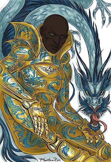 dragon armour by PhantomRin