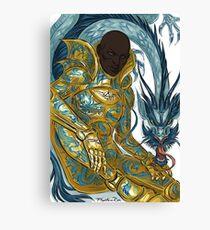 dragon armour Canvas Print