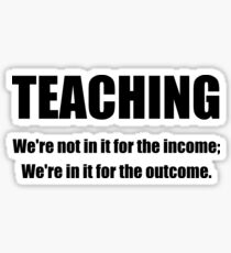 Teacher Outcome Sticker