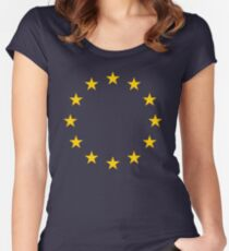 EU Women's Fitted Scoop T-Shirt