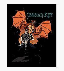 Obsidian Key - Sly Dragon and Sonic V - Progressive Rock Metal - Hand drawn Photographic Print
