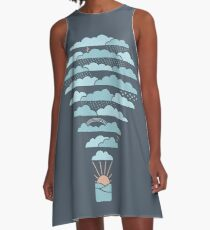 Weather Balloon A-Line Dress