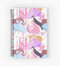 Princess Parade Spiral Notebook