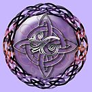 A Celtic Knotwork Compass by anankeblue