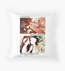 Achilles & Patroclus + Richard Siken Throw Pillow