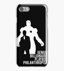 Genius. Billionaire. Playboy. Philanthropist. iPhone Case/Skin