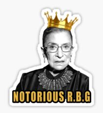 The Notorious Ruth Bader Ginsburg  Sticker