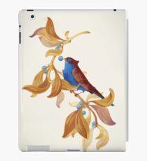 Blue birds song iPad Case/Skin