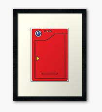 Original Pokedex Framed Print