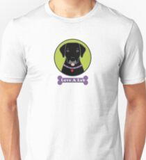 Love A Black Lab Unisex T-Shirt