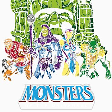 Monsters of the Universal by ChemaBola8