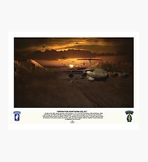 Operation Northern Delay Photographic Print