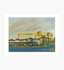 Samson and Goliath Art Print