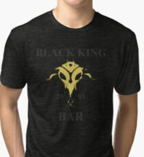 Black King Bar Tri-blend T-Shirt