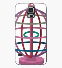 Wired globe cartoon art Case/Skin for Samsung Galaxy