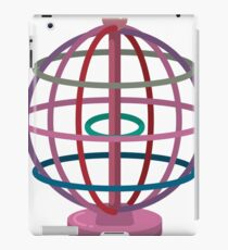 Wired globe cartoon art iPad Case/Skin