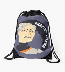 Craptain Drawstring Bag