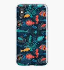 Tropical Fish Under the Sea iPhone Case/Skin