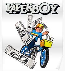 Paperboy Arcade  Poster