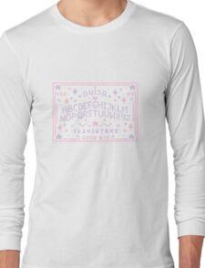 Pixel Ouija Board Long Sleeve T-Shirt