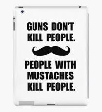 People Mustaches Kill iPad Case/Skin