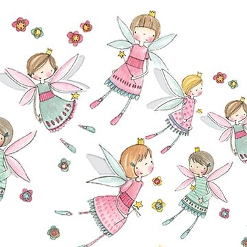 Fairies in Wonderland by MyriahAbela555