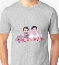 Dan and Phil | Cherry Blossom Unisex T-Shirt