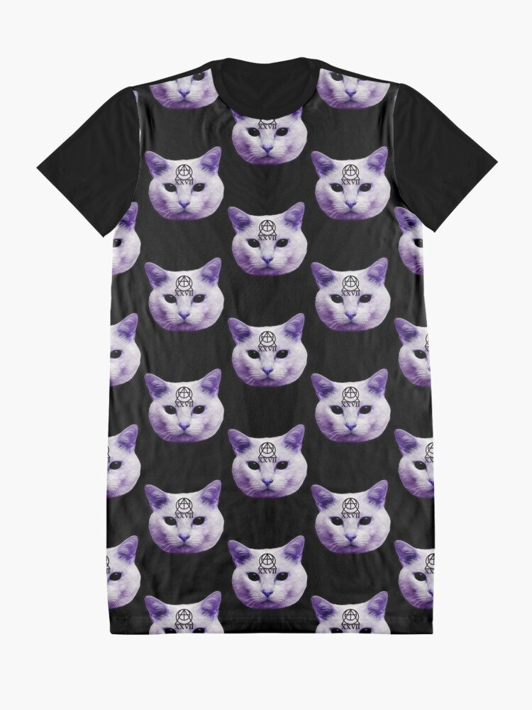 Alternative Ansicht von Kultkatze T-Shirt Kleid