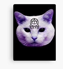 Cult Cat Canvas Print