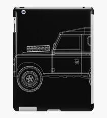 Land Rover Series III Outline iPad Case/Skin