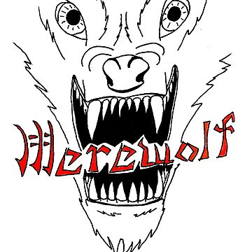 Face of the Werewolf by Lord-Mothman
