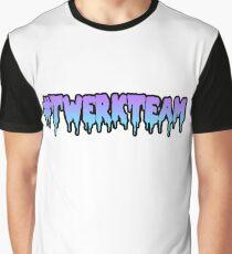 Twerk-Team Grafik T-Shirt