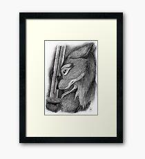 Steel Riddle Framed Print