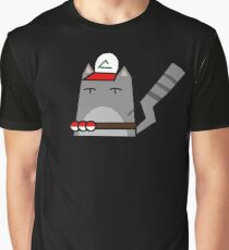 Ash (pokemon) Cat Graphic T-Shirt