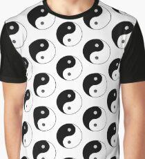 Wicca Yin Yang Grafik T-Shirt
